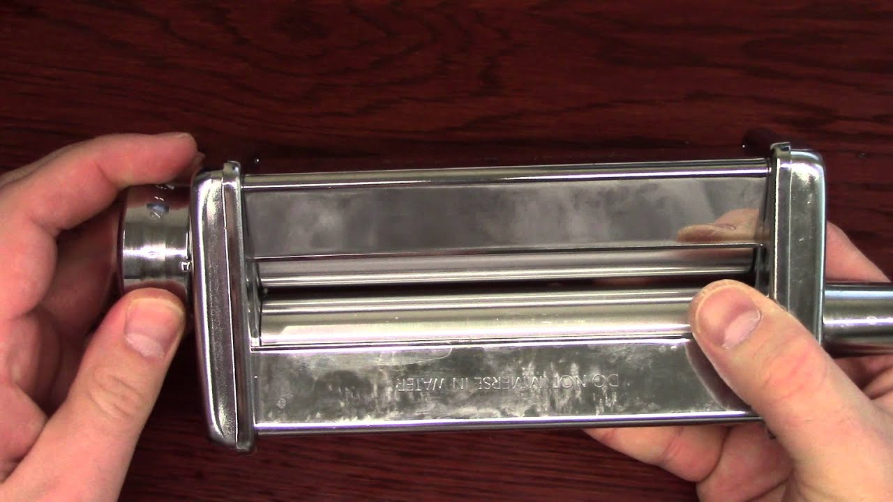 kitchenaid pasta roller review youtube