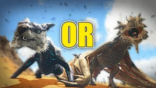 Is a Managarmr or Wyvern BETTER? - Ark Survival Evolved