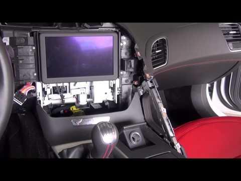 Corvette C7 Stingray Carbon Fiber Dash Installation DIY