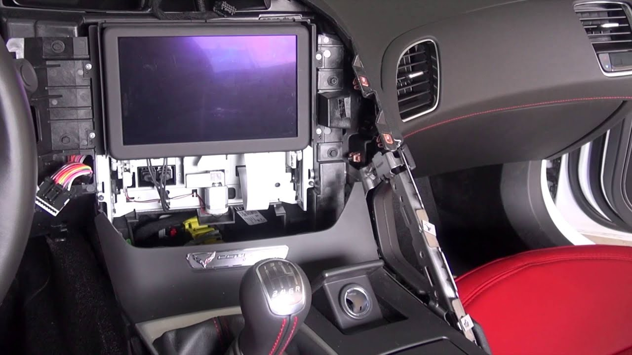Corvette C7 Stingray Carbon Fiber Dash Installation Diy