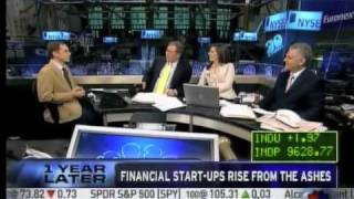 Mitch Tuchman, MarketRiders CEO on CNBC Squawk On the Street with Erin Burnett and Mark Haines