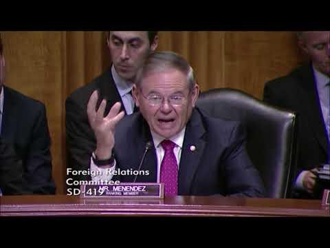 Sen. Menendez Questions U.S. Ambassador to Cyprus Nominee on Turkey's Invasion