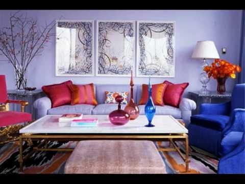 Light Purple Painted Rooms