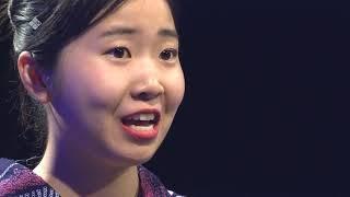Девушка из Японии, говорящая по якутски. г.Якутск, 03.02.2020