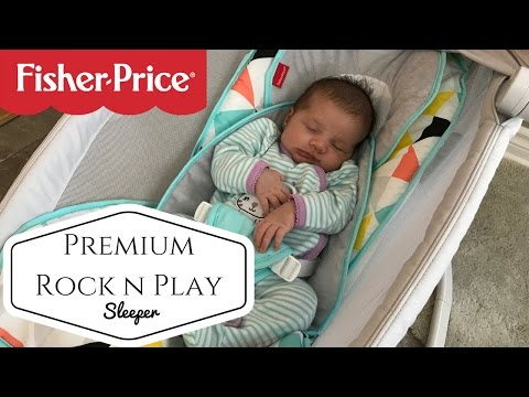 Review! Fisher Price Premium Rock N Play Sleeper With Projection