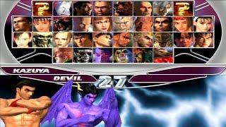 Tekken Tag Tournament - Kazuya Mishima & Devil