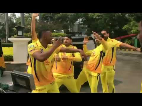 CSK muthoot finance ad theme song dance