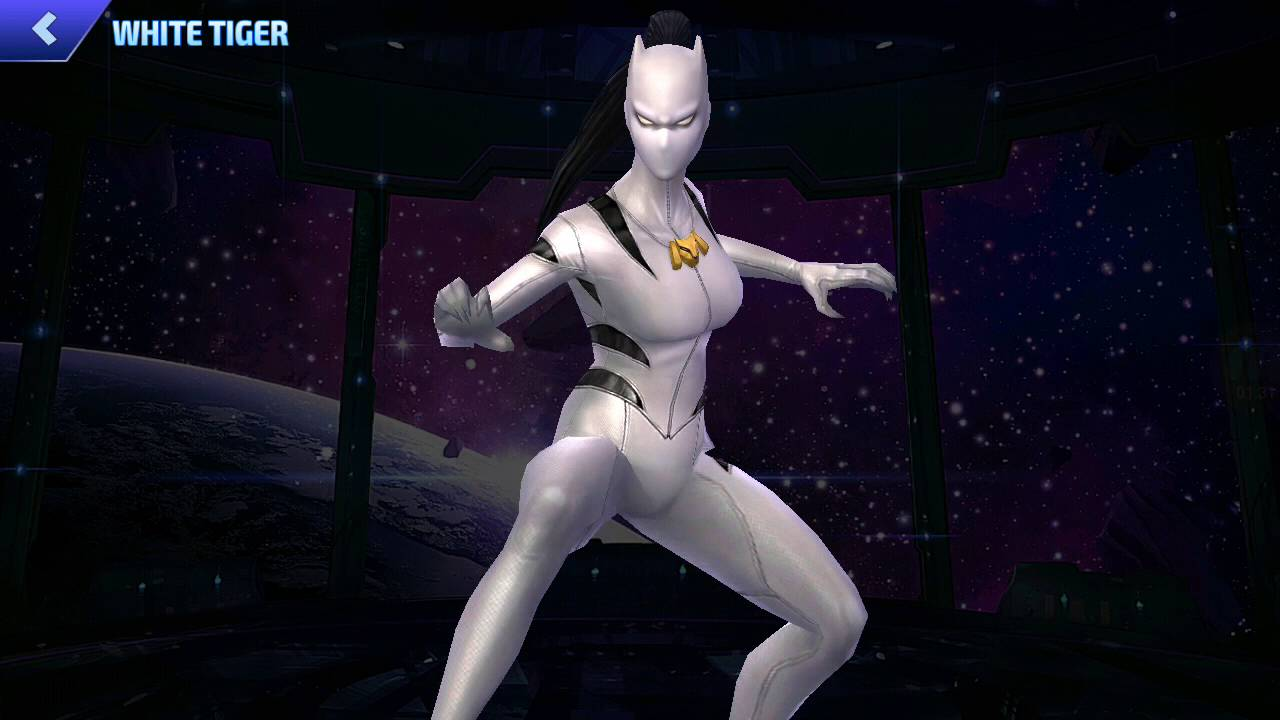 Marvel Future Fight White Tigernew Avenger Youtube