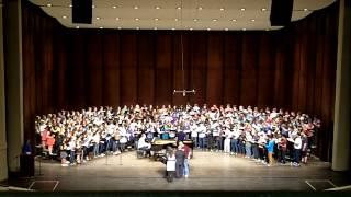 """Lullaby"" - GMEA All-State Chorus 2014: Senior Mixed Choir"
