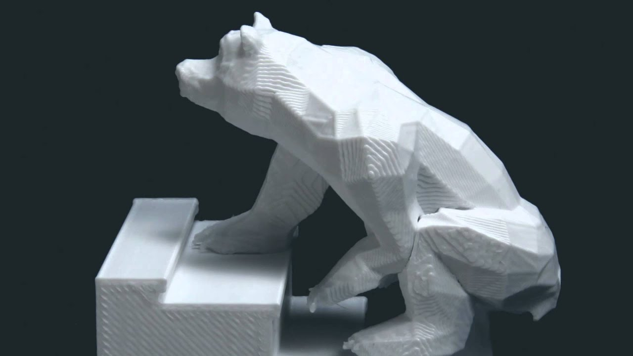BEARS ON STAIRS YouTube - 3d printed stop motion animation bear stairs