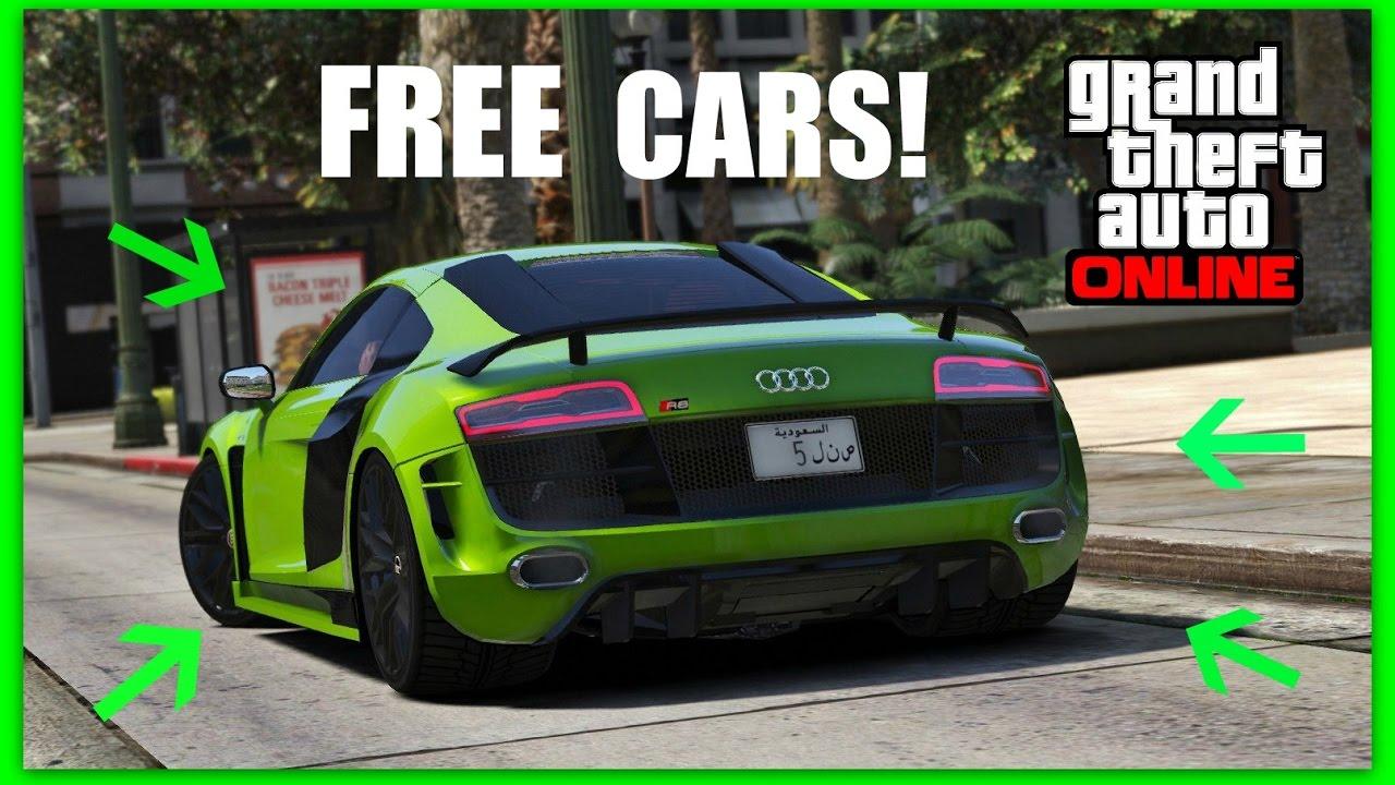 free cars huge giveaway gta v