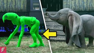 MOST FAMOUS Disney Movies BEFORE AND AFTER Special Effects (VFX)