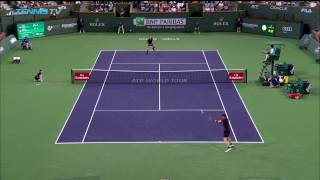 Andy Murray hits incredible lob past Vasek Pospisil