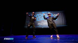 Nonstop & Poppin John | FrontRow | World of Dance 2017 | #WODATL17