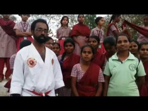 Self Defence Programme in APSWR Gurukula Patasala
