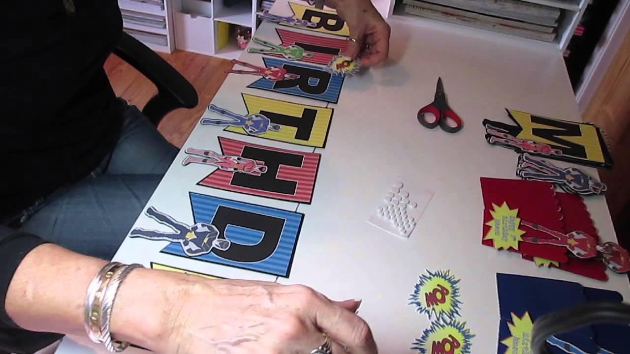 Power Ranger Birthday DIY Decoratioins