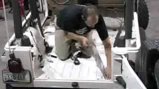 Second Skin Jeep Part 2 - Sound Deadening - Damplifier Pro Vibration Mat