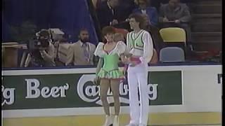 Natalia Bestemianova & Andrei Bukin USR - 1987 World Championships CD2