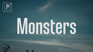 Katie Sky - Monsters (Lyrics)