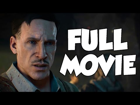 AETHER ZOMBIES: FULL MOVIE - All Call Of Duty Zombies Storyline Intro & Outro Cutscenes! (BO2-BO4)