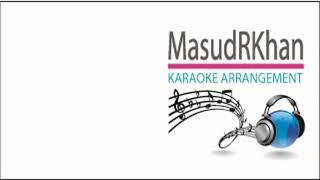 Amar Hridoy Tomar Apon Haater Doley | Karaoke | Ravindra Sangeet