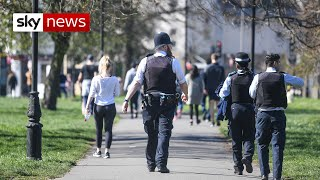 Day 2: Policing Britain's lockdown