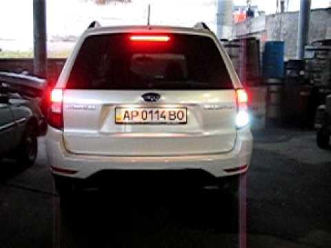 Subaru Forester Led Tail Light Youtube