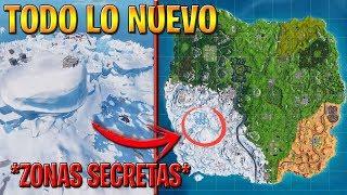 NEW SEASON MAP 7 FORTNITE ALL NEW CHANGES , SECRET ZONES !!