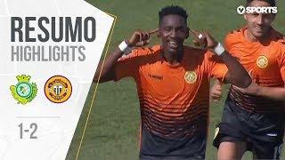 Highlights | Resumo: V. Setúbal 1-2 Nacional (Liga 18/19 #3)