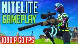 *NEW SKIN* - NITELITE - FORTNITE Battle Royale [No Commentary Gameplay]