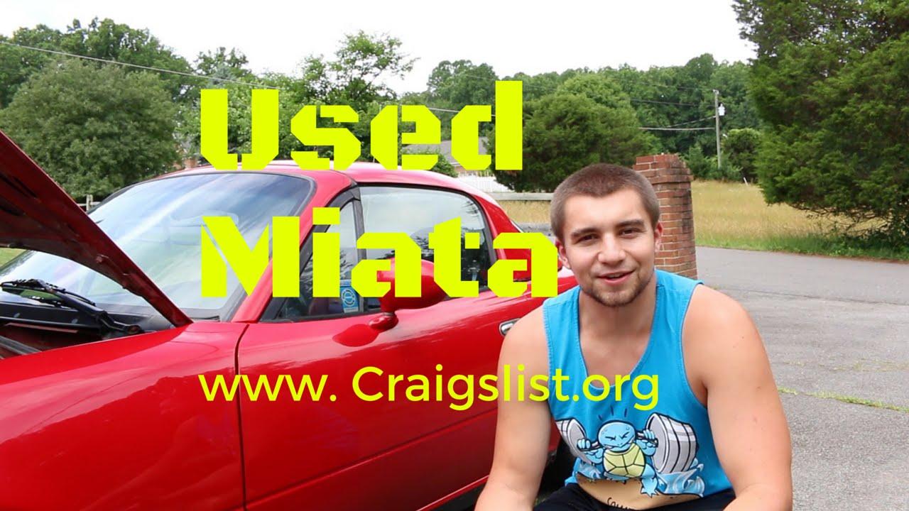 I Bought A 1990 Mazda Miata Off Of Craigslist For 2000 Youtube