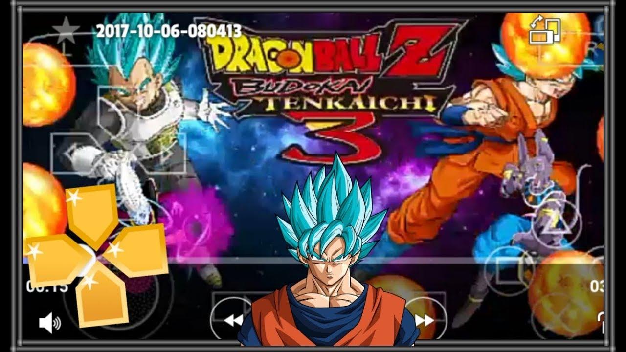 SAIU! DRAGON BALL Z BUDOKAI TENKAICHI 3 FOR PPSSPP