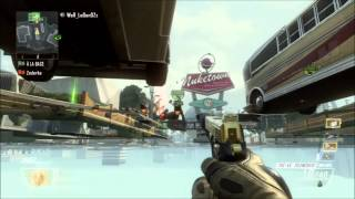 [BO2] GLITCH   (EPIC!) Invincible + Skybarrier + Under the map sur Nuketown