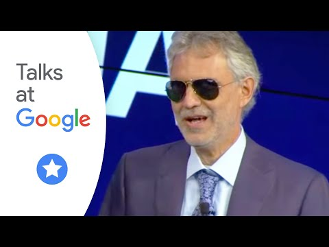 Andrea Bocelli | Talks at Google