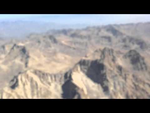 Flying over Hindu Kush Mountains