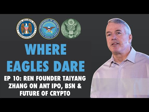 Co-founder of Ren talks about crypto as a taxi medallion, BSN, PBOC Coin, Ant IPO and crypto future