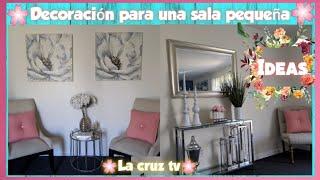 Ideas para decorar una sala pequeña 2019/Como decorar tu sala,Primavera 2019