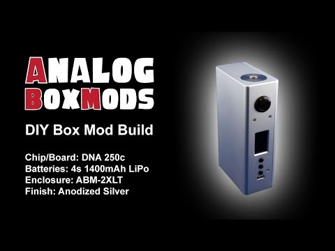 DNA250c, ABM 2XLT, 4sLipo, DIY Box Mod Build