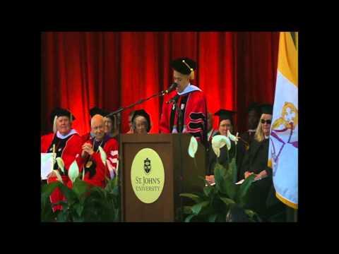 St. John's Commencement 2014 - David Ushery Speech