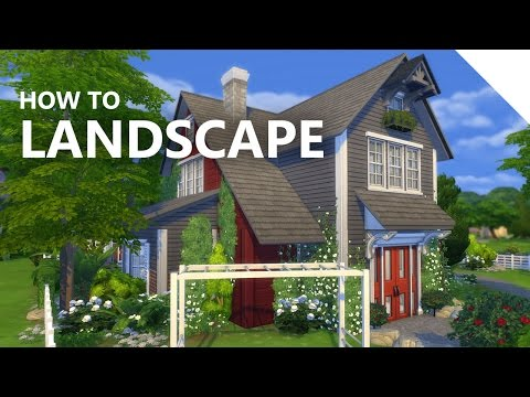 The Sims 4 Landscaping Tutorial