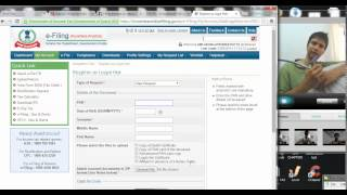 (Step 1 ) How to Register as Legal heir with income tax department (Hindi)