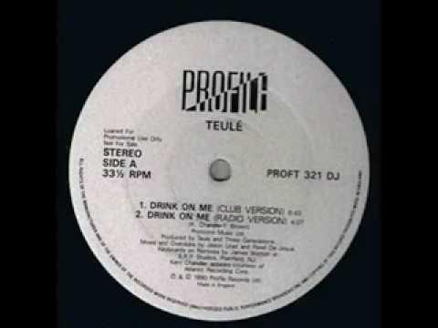 Teule - Drink On Me (Kerri Chandler Club version) 1990.mpg
