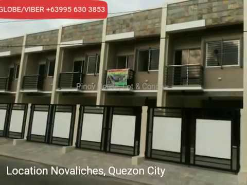 Townhouse in Quezon City near Novaliches Proper, SM Fairview Rent to Own