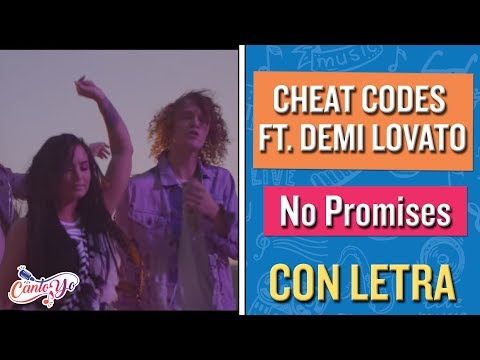 Cheat Codes  - No Promises ft. Demi Levato (Karaoke) | CantoYo