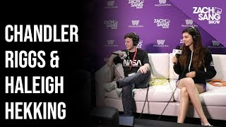 Chandler Riggs & Haleigh Hekking Interview | E3