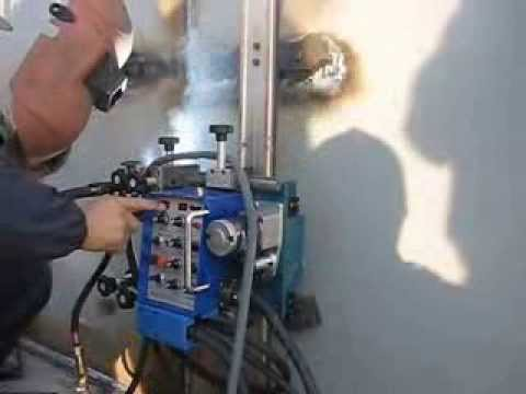 Electro Gas Welding Egw Carriage Butt Welder For