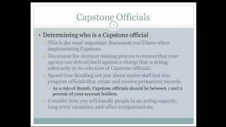 Capstone Legal Briefing