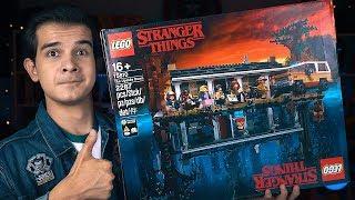 LEGO ОЧЕНЬ СТРАННЫЕ ДЕЛА - Набор на Обзор (75810)