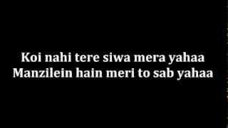 ▶ Kabhi Jo Badal Barse Karaoke with lyrics by sonam YouTube 360p