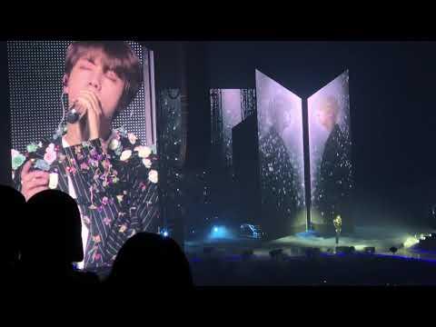 [FANCAM] BTS (방탄소년단) JIN - Epiphany 180923 Hamilton Love Yourself World Tour